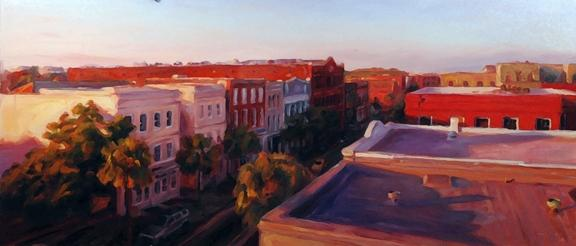 Michael Downs Carolina Street Charleston 18x37